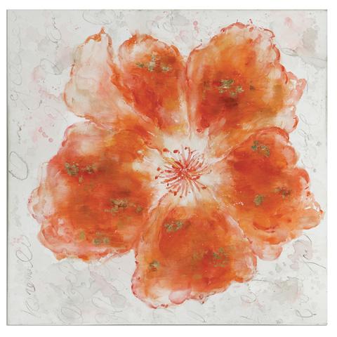 Uttermost Company - Crushed Orange Art - 35323