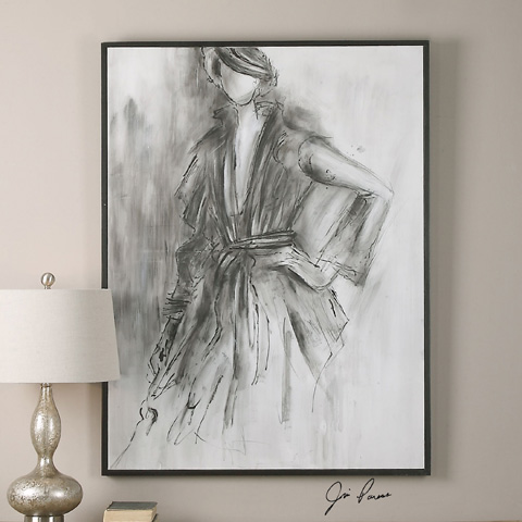 Uttermost Company - Charcoal Sketch Art - 36106