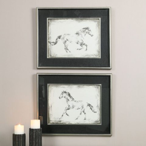 Uttermost Company - Equine Study Art - 41547