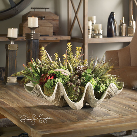 Uttermost Company - Sea Coast Succulents - 60116