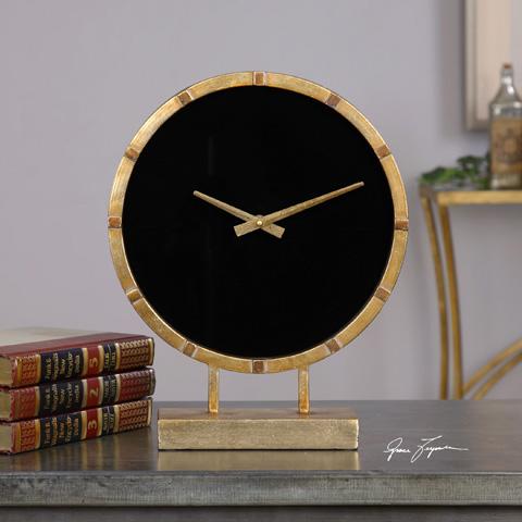 Uttermost Company - Aldo Table Clock - 06433