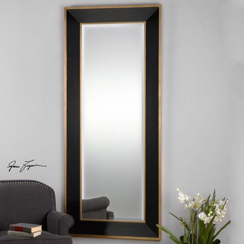 Uttermost Company - Cormor Black Wall Mirror - 09083