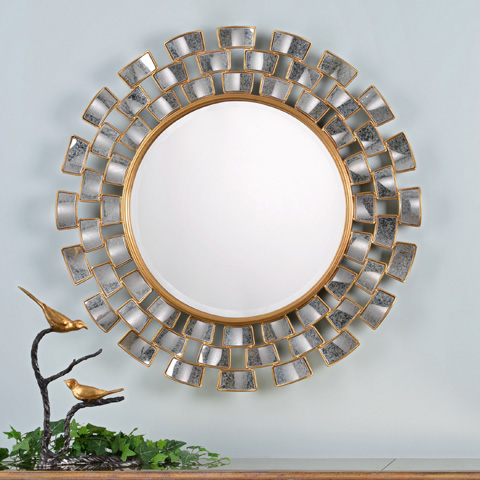 Uttermost Company - Rachida Round Wall Mirror - 09107