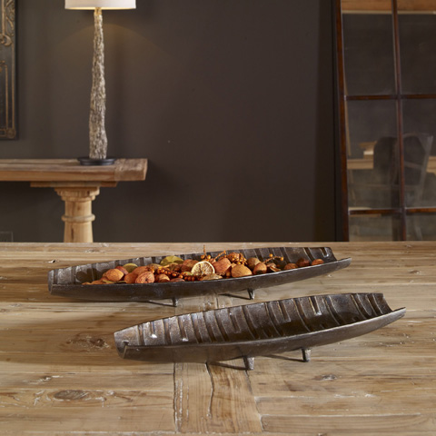 Uttermost Company - Aida Trays-Set of Two - 20051