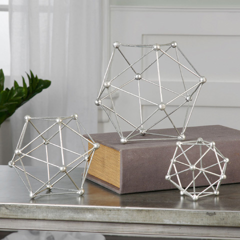 Uttermost Company - Vitale Sculptures-Set of Three - 20065