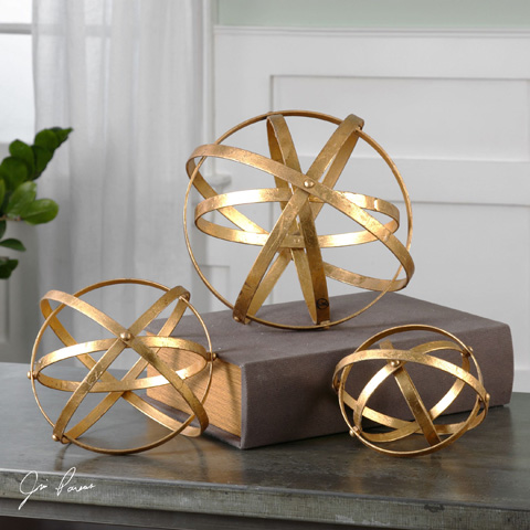 Uttermost Company - Stetson Gold Spheres - 20066
