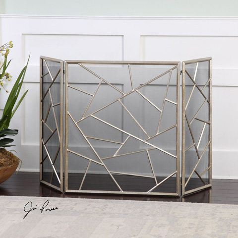 Uttermost Company - Armino Fireplace Screen - 20072