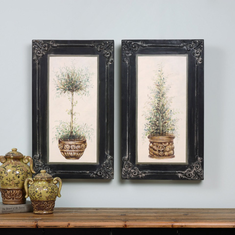 Uttermost Company - Topiaries Art-Set fo Two - 31404