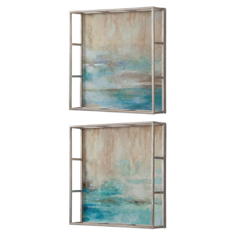 Uttermost Company - Through The Mist Art-Set of Two - 51103