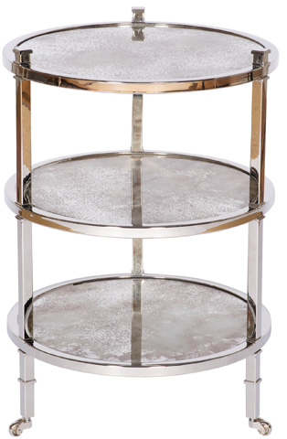 Vanguard Furniture - Stainless Steel End Table - W375E-SS