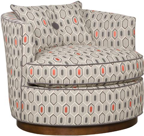 Vanguard Furniture - Bernadette Swivel Chair - W195-SW