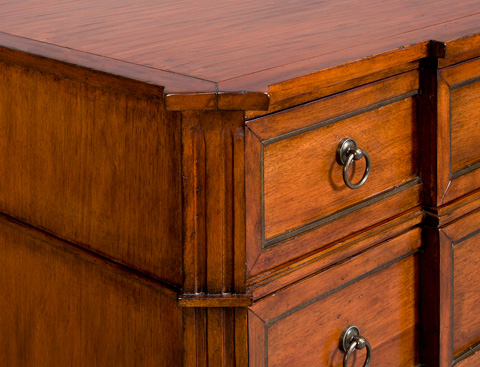 Vanguard Furniture - Homer Chest - 8504H-BL