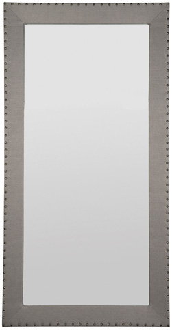 Vanguard Furniture - Corinthian Club Upholstered Floor Mirror - 9404-MI