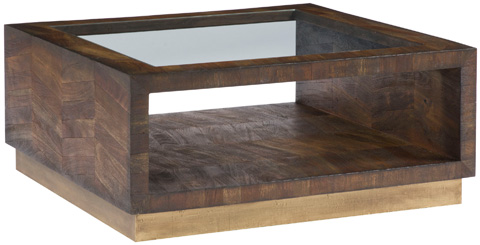 Vanguard Furniture - Chevron Square Cocktail Table - P230CS-CN