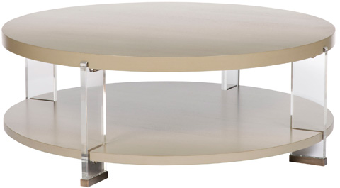 Vanguard - Dell Rey Round Cocktail Table - P402C