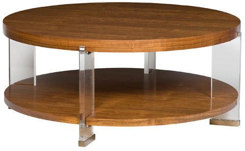Vanguard Furniture - Dell Rey Round Cocktail Table - P402C-MU