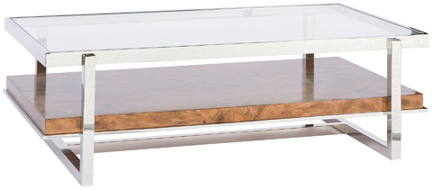 Vanguard Furniture - Marsden Rectangle Cocktail Table - W334CR