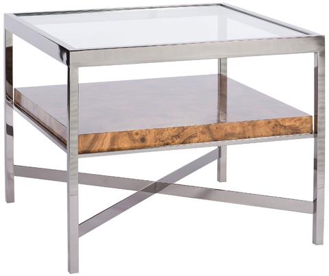 Vanguard Furniture - Jasper Square Lamp Table - W334SL