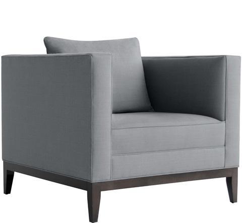 Van Peursem Ltd - Square Club Chair - 1216