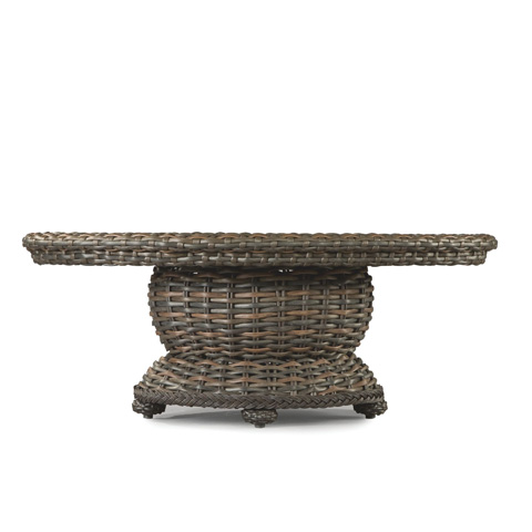 Lane Venture - South Hampton Oval Cocktail Table - 9790-26