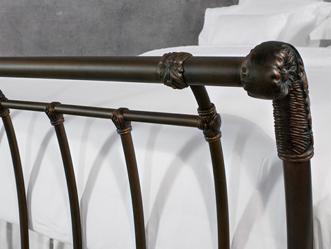 Wesley Allen - Brookshire Iron Bed - 1037-CB