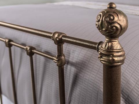 Wesley Allen - Danbury Iron Bed - 1474-CB