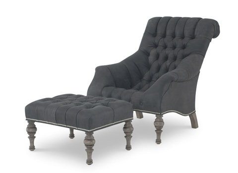 Wesley Hall, Inc. - Upholstered Tufted Chair - L7045