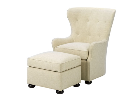 Wesley Hall, Inc. - Wing Chair - 648