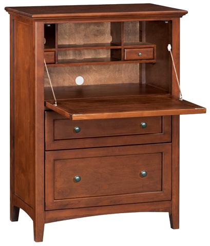 Whittier Wood Furniture - McKenzie Office Chest - 1123GAC