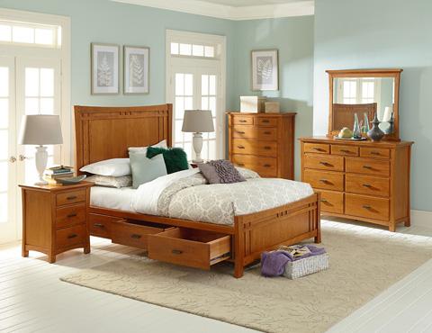 Whittier Wood Furniture - Six Drawer Prairie City Chest - 1230LSO