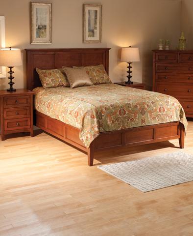 Whittier Wood Furniture - McKenzie Queen Bed - 1346GAC