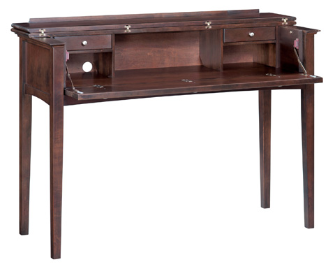 Whitter Wood Furniture - McKenzie Console Desk - 3506CAF