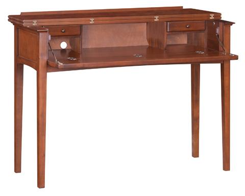 Whitter Wood Furniture - McKenzie Console Desk - 3506GAC