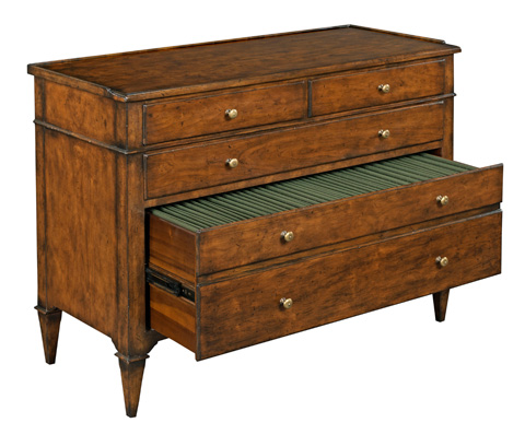 Woodbridge Furniture Company - Marseille Filing Chest - 4046-10