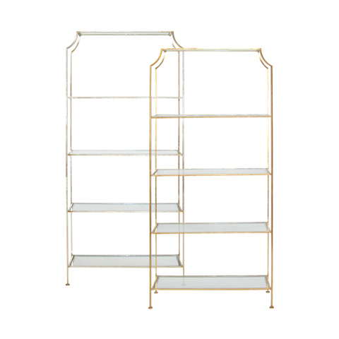 Image of Gold Leaf Etagere
