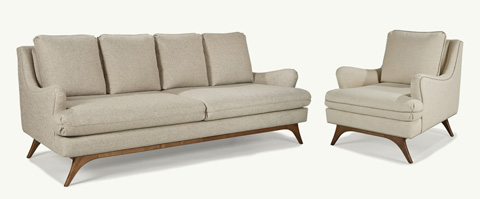 Younger Furniture - Lewis Four Cushion Sofa - 65530