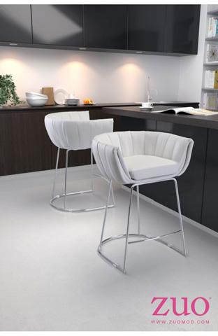 Zuo Modern Contemporary, Inc. - Latte Counter Stool - 100250