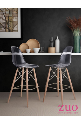 Zuo Modern Contemporary, Inc. - Shadow Barstool - 100261