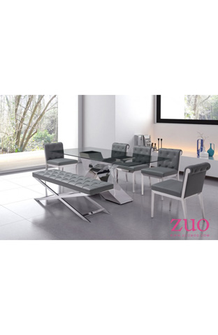 Zuo Modern Contemporary, Inc. - Pontis Bench in White - 100337
