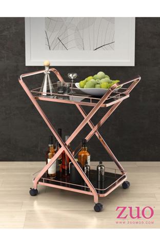 Zuo Modern Contemporary, Inc. - Vesuvius Serving Cart - 100370