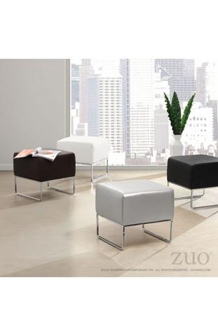 Zuo Modern Contemporary, Inc. - Plush Ottoman - 103004