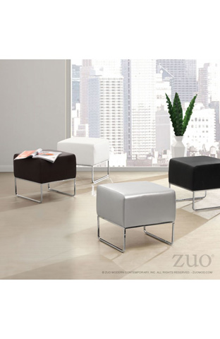 Zuo Modern Contemporary, Inc. - Plush Ottoman - 103008