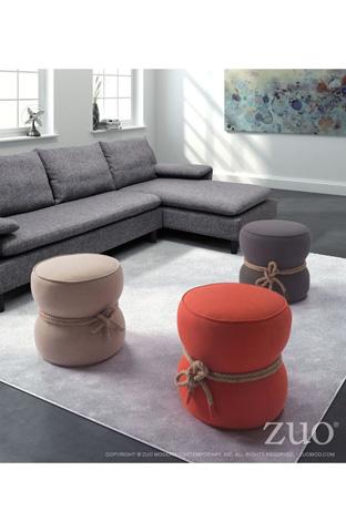 Zuo Modern Contemporary, Inc. - Tubby Round Ottoman - 13018