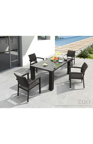 Zuo Modern Contemporary, Inc. - Boracay Outdoor Dining Table - 701020