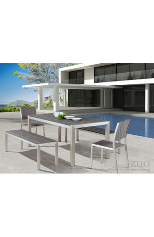 Zuo Modern Contemporary, Inc. - Metropolitan Outdoor Bench - 701862
