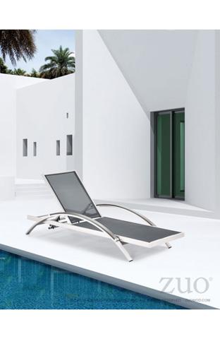 Zuo Modern Contemporary, Inc. - Metropolitan Outdoor Chaise Lounge - 703187