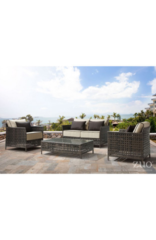 Zuo Modern Contemporary, Inc. - Pinery Outdoor Cocktail Table - 703519
