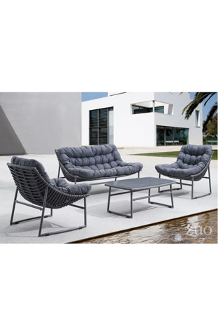 Zuo Modern Contemporary, Inc. - Ingonish Beach Outdoor Loveseat - 703530