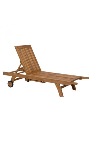 Image of Starboard Outdoor Chaise Lounge