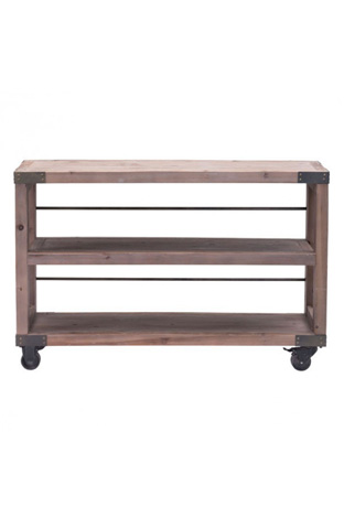 Zuo Modern Contemporary, Inc. - Fort Mason Bookcase with Casters - 98100